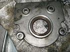 アウディ A6 3.2クアトロ 車検点検オイル漏れ